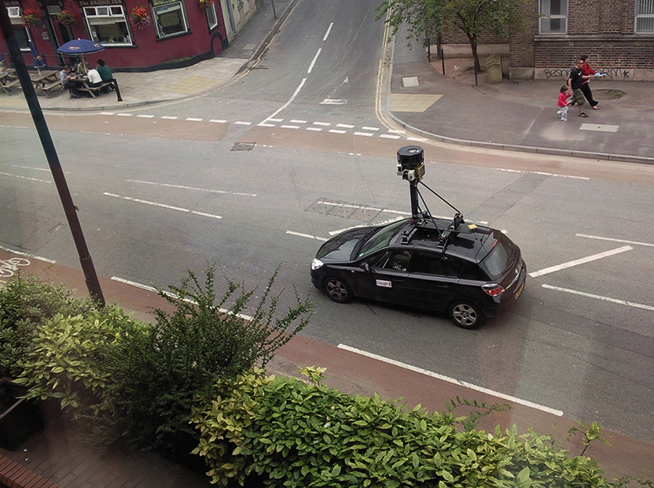 Google Street View Cars Collected Emails and Passwords