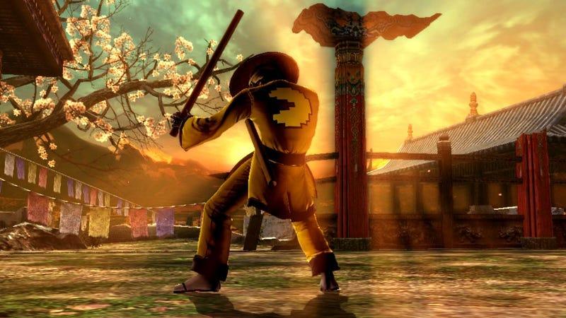This October, Yoshimitsu Is The Cardboard Tube Samurai
