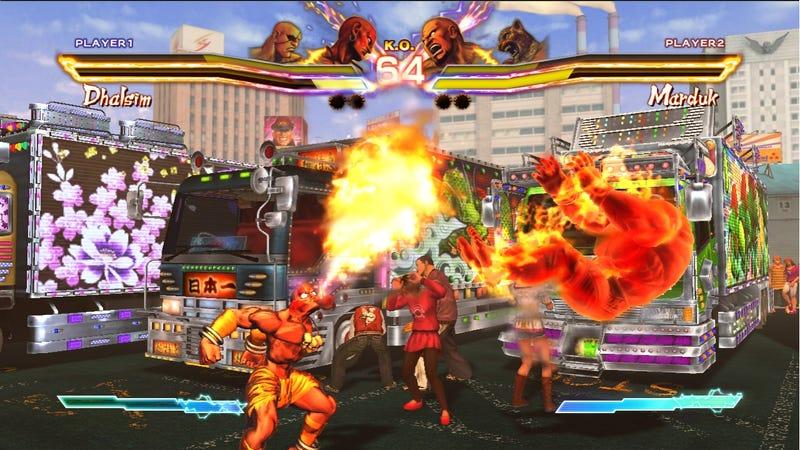 Street Fighter X Tekken Shows Its Character in Ten More Screens