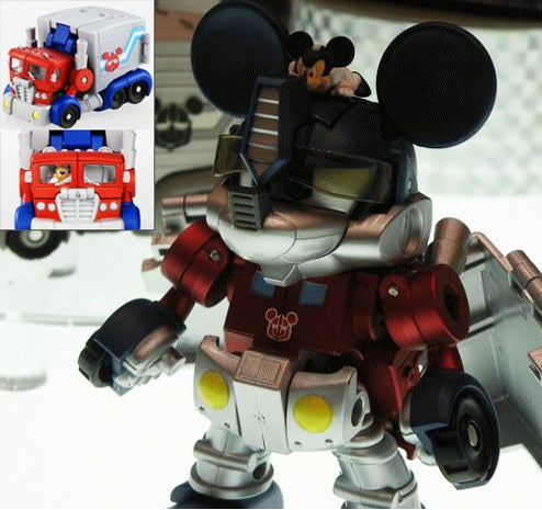 Mickey Mouse Autobot is More Than Meets the Eye
