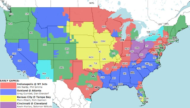 Tony From Dallas Will Hang Up And Listen: Your NFL Early Games Viewing Guide