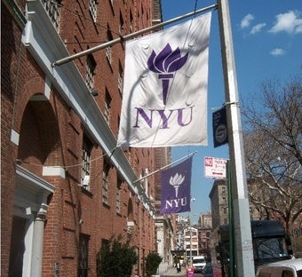 NYU to Poors: Go Away