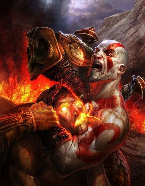 God Of War Murders Up An Art Exhibition