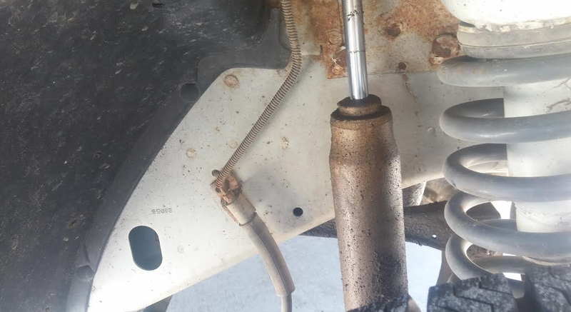 Watch Me Fix My Jeep's Shock Absorber Live Right Now