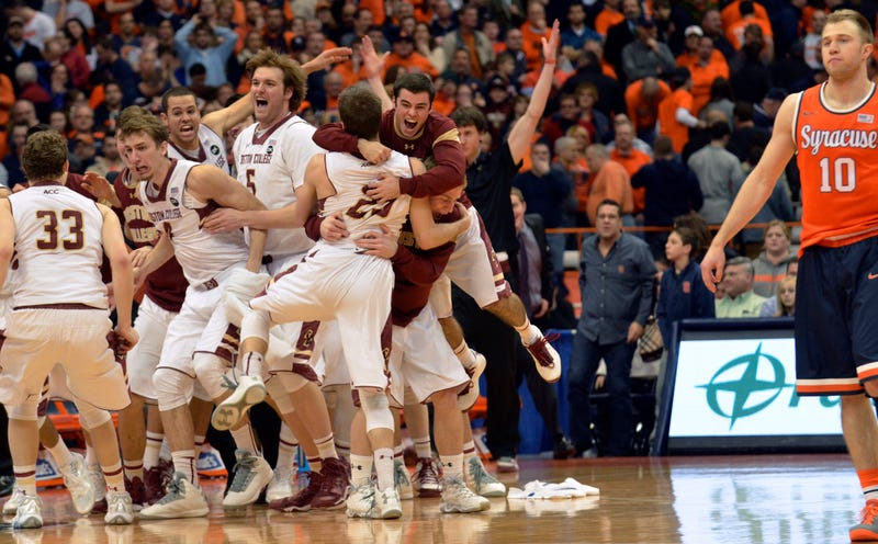 Terrible Boston College Team Ends Syracuse's Unbeaten Season
