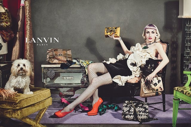 'Real People' Star in Lanvin's Fall Ads