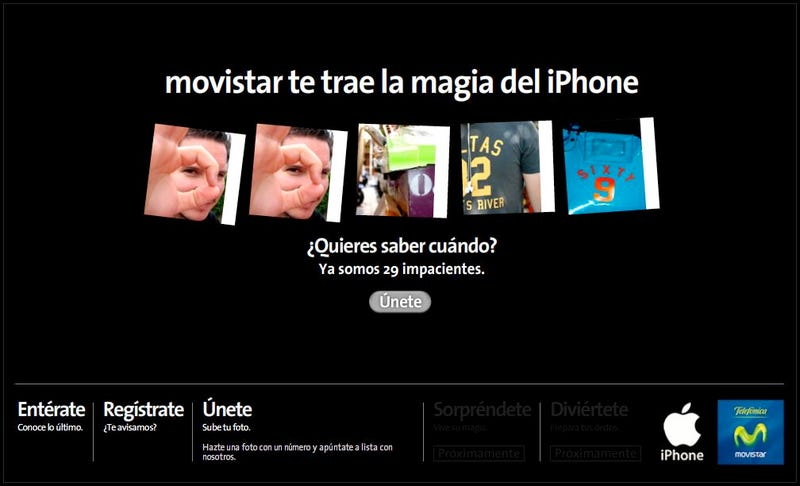 iPhone Officially Coming to Spain