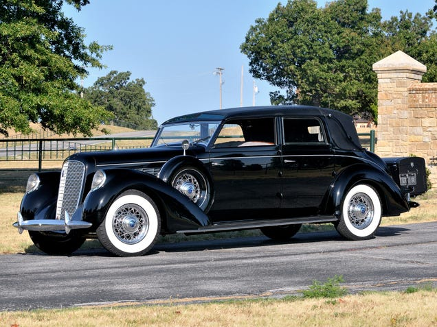 the nice thing about 1930s luxury cars