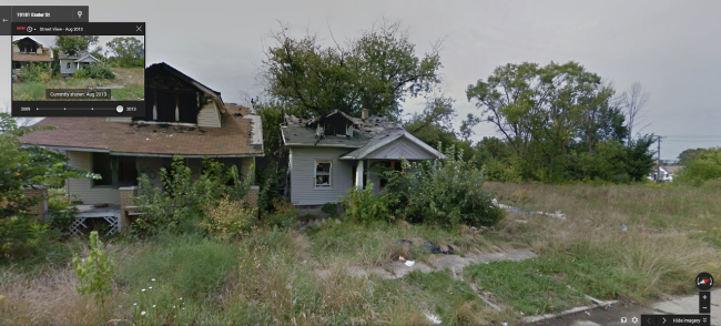 Historical Street View Shows How Detroit Is Turning Into Chernobyl