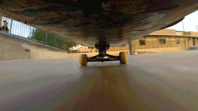 ​The View From Under a Skateboard Looks Freakin' Sick, Dude