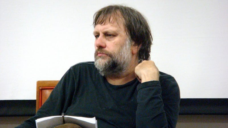 Slavoj Žižek Sorta Kinda Admits Plagiarizing White Supremacist Journal