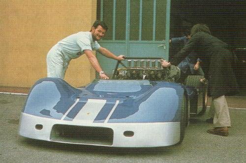 1972 Lamborghini AMS Racecar