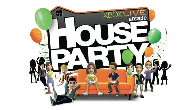 Xbox Live Arcade's House Party Priced & Dated