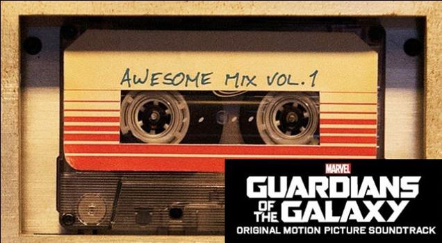 Ya puedes escuchar la banda sonora de Guardianes de la Galaxia