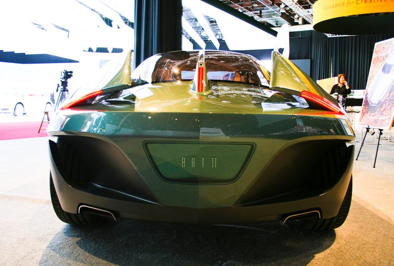 BAT 11dk: First Private Car Displayed On Detroit Auto Show Main Floor... Ever