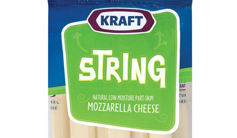 Kraft Reports String-Cheese Recall, Probable Shortage