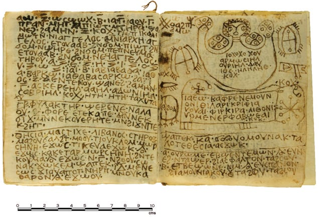 A 1,300-Year-Old Egyptian Book Of Spells Has Been Deciphered