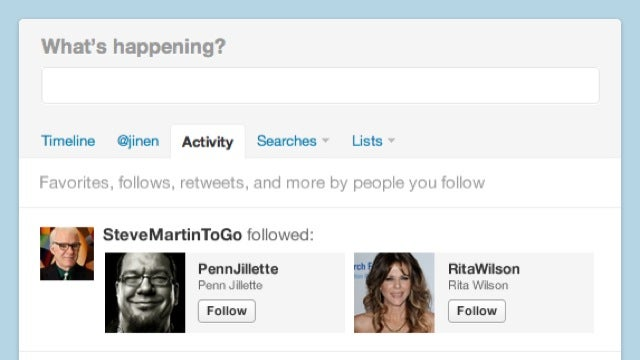 Twitter Boosts Stimulus Overload with New Realtime Activity Feeds