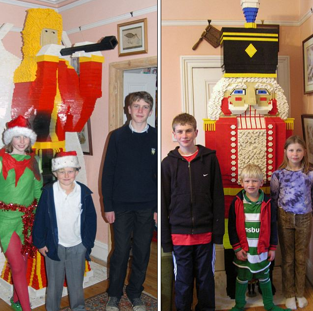 This Lego Crazy Family Builds a Different 100,000-Brick Model Every Christmas