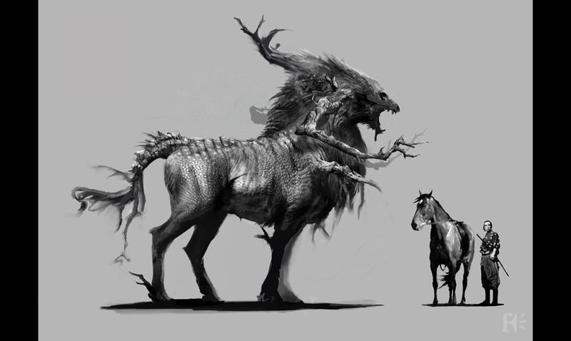 The creature design in 47 Ronin was just mind-blowingly good