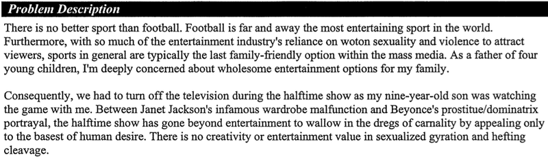 """A Women Kissing A Nerd,"" ""Beyonce Girating Her Vagina,"" And Other Angry Complaints To The FCC About The Super Bowl"