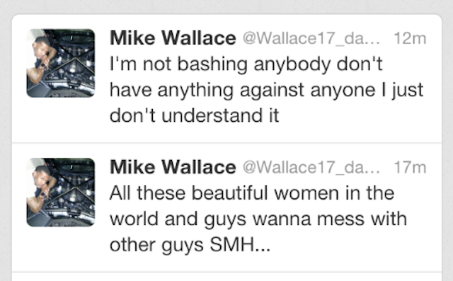 Mike Wallace Has Dumb Thoughts About Gay People