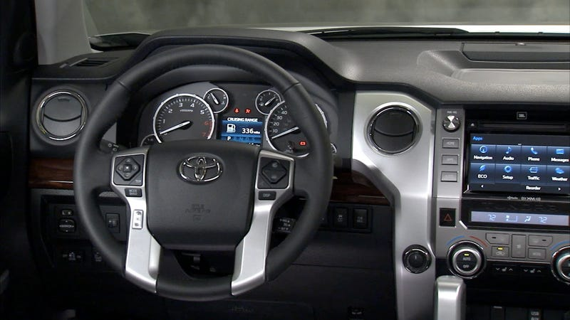What does your steering wheel look like?