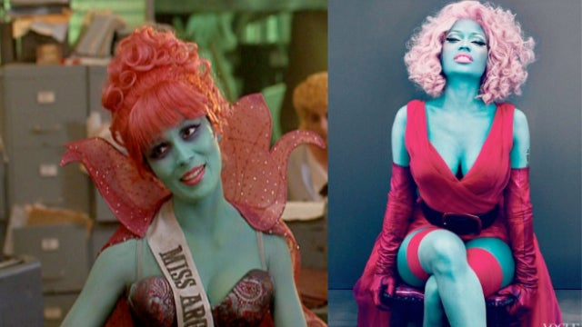 Was Nicki Minaj's Vogue Shoot Inspired by Beetlejuice?