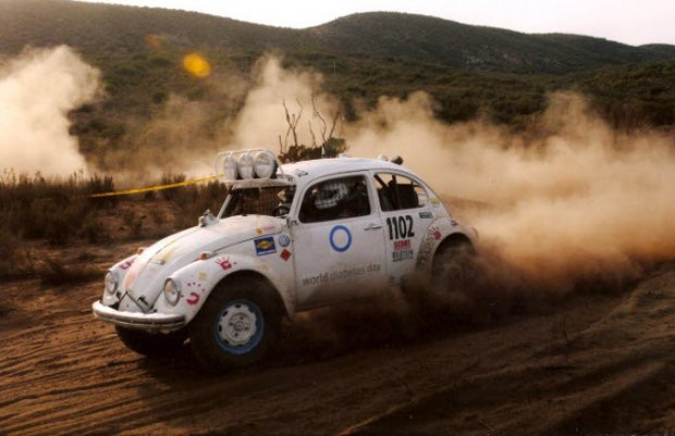 How one man got off his couch and became a Baja racer