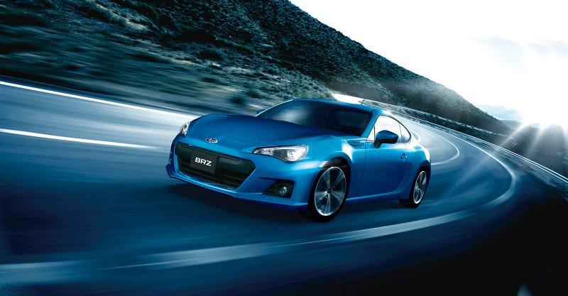 Subaru BRZ: Live Photos