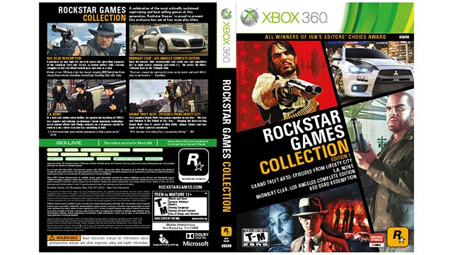 Rockstar's Releasing One Hell of a Compilation Disc