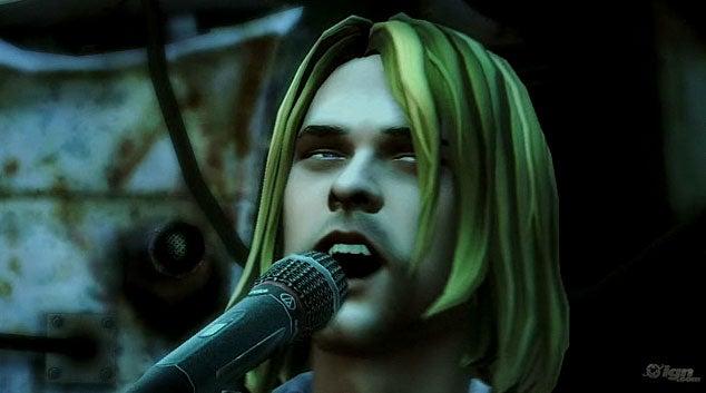 Sit Awkwardly Through Kurt Cobain's Guitar Hero 5 Performance