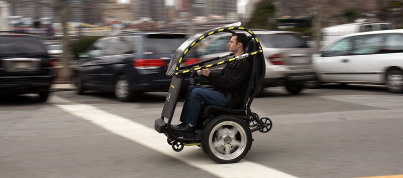 GM, Segway To Unveil New Two-Wheeled Urban Vehicle