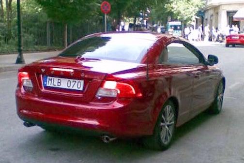 2010 Volvo C70 Spied In Barcelona