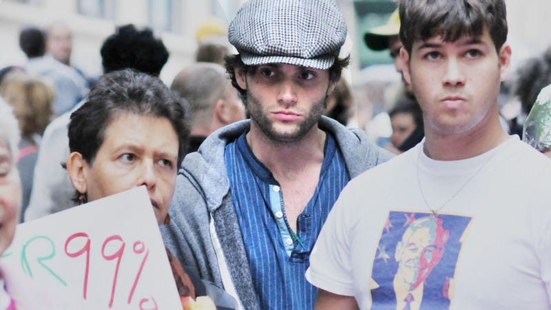 Occupy Wall Street Crashes Gossip Girl Set