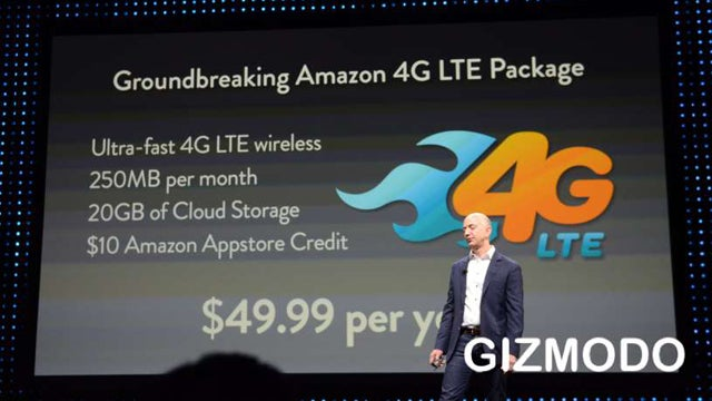 Amazon's Crazy New 4G LTE Plan Gives You 250MB a Month for $50 a Year (Updated)