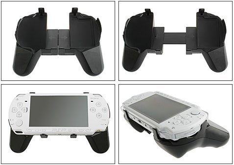 PSP Flexible Grip Gives Dualshock-Like Controls