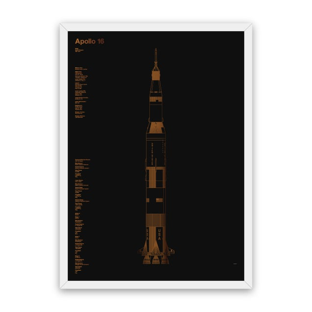These Shiny Foil Screenprints Of Space History Are Fantastic
