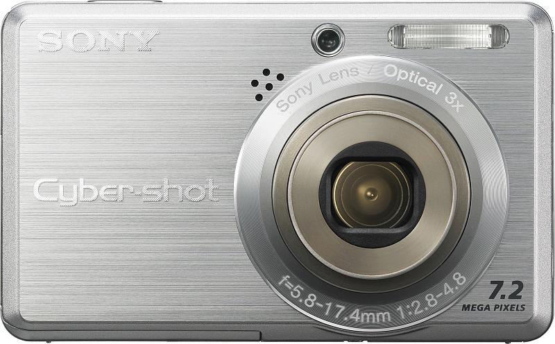 Sony DSC-S780, DSC-S750: Low-End As Sony Cams Go