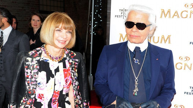 Karl Lagerfeld Makes Red Carpet Movie Magic