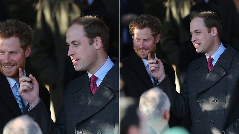 Royal Christmas: Harry's Touchable Beard and The Duchess's Rad Plaid