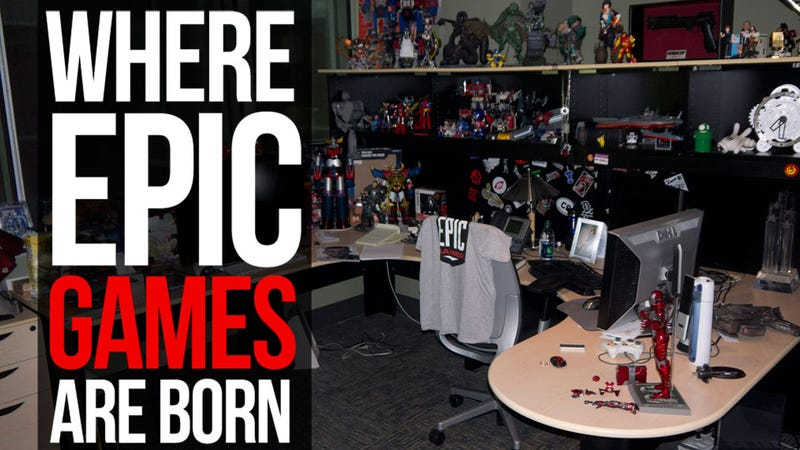 Let's Take a Tour of America's Most Epic Video Game Company