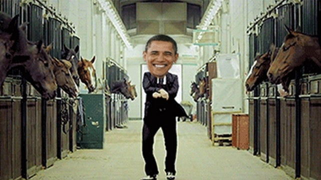 President Obama Says He Might Do a Victory 'Gangnam Style' Dance for Michelle, In Private