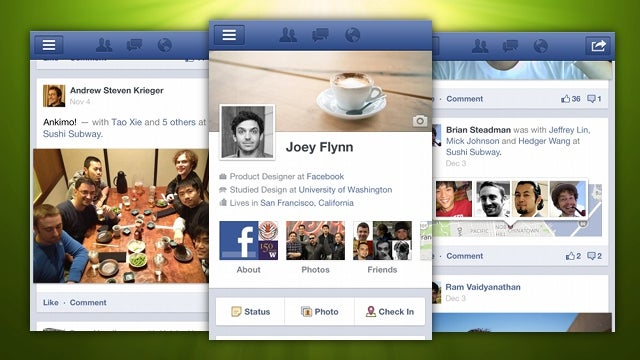 Facebook for Android Updates with New, Very Cool Timeline Interface