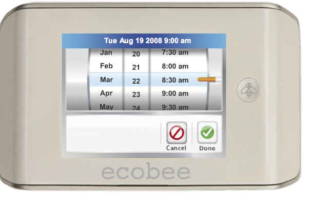 Ecobee Smart Thermostat Can Adjust Home Temps Online