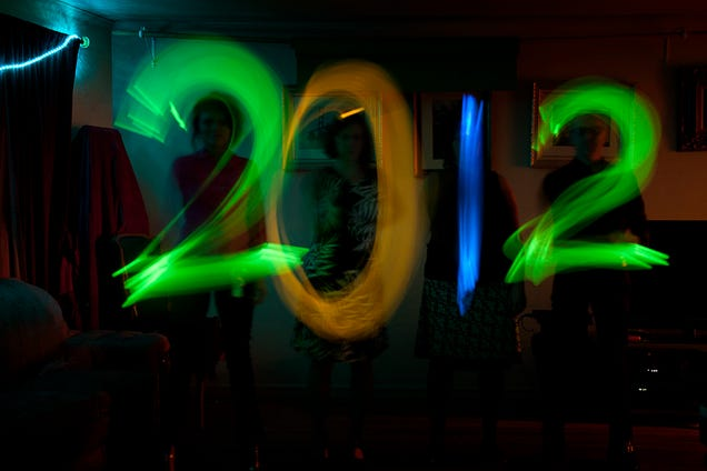 New Year's Eve as Seen Through Drunk Goggles