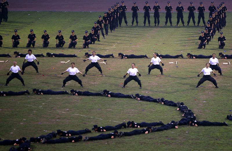 China Anti-Terrorist Plan Includes Flamethrowers, Segways, Chuck Norris Clones