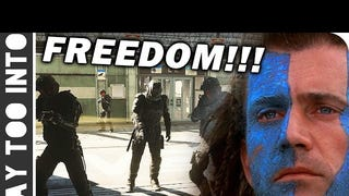 "CoD: AW Nonlinear Emergent Gameplay ""FREEDOM!!"""