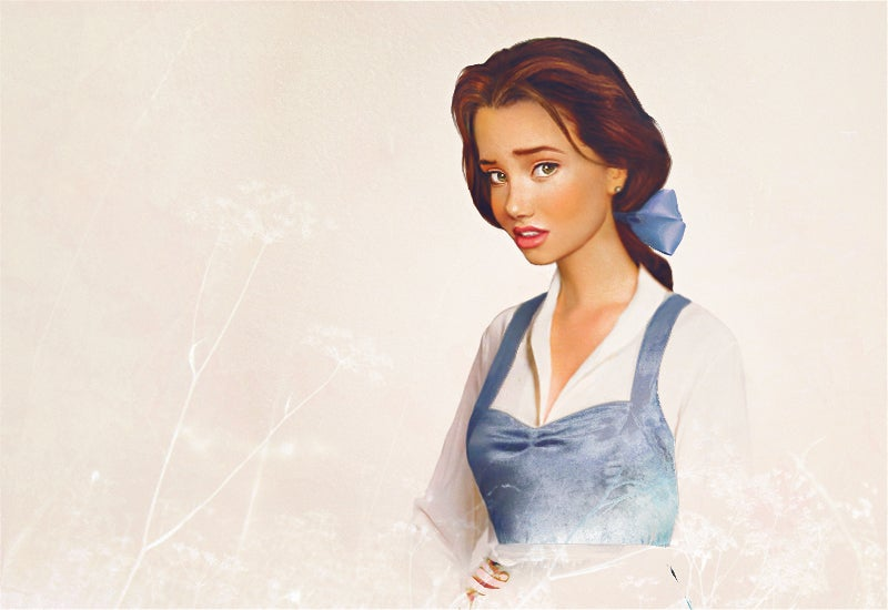 Unnervingly realistic portraits of Disney princesses as human beings