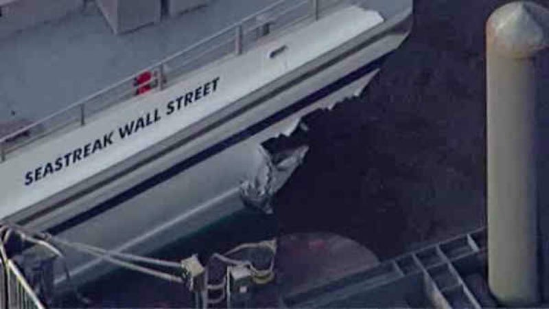 57 Injured, One Critical After Ferry Crashes Into Dock In New York City